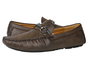 Load image into Gallery viewer, Tomaz C351 Front Buckled Loafers (Coffee) - Tomaz Shoes (783313633369)