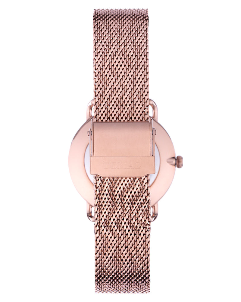 Load image into Gallery viewer, Tomaz Ladies Watch G1L-D2 (Rose Gold/Black Marble)