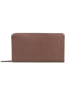 Load image into Gallery viewer, Tomaz NT08 Leather Clutch (Coffee)