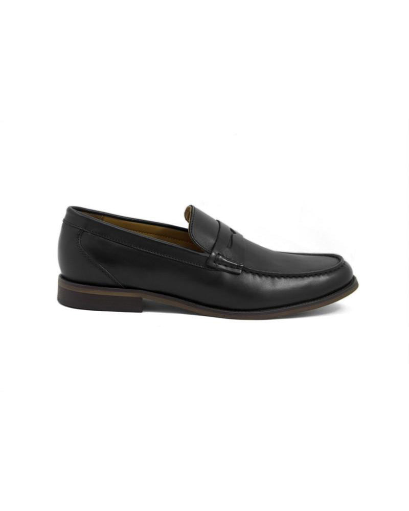 Load image into Gallery viewer, Tomaz F092 Penny Loafers (Black)
