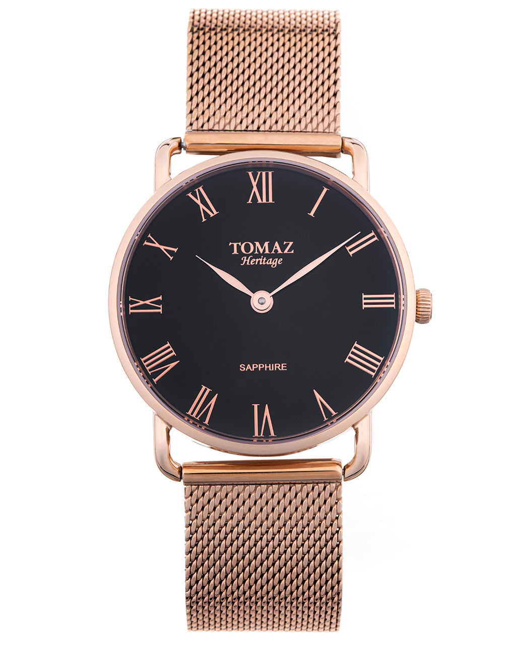 Tomaz Men's Watch G3M-D3 (Rose Gold Mesh)