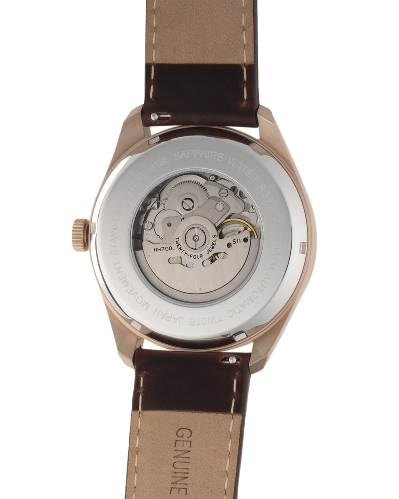 Load image into Gallery viewer, Tomaz Men's Watch TW007B (Rose Gold/White) -2nd ver.