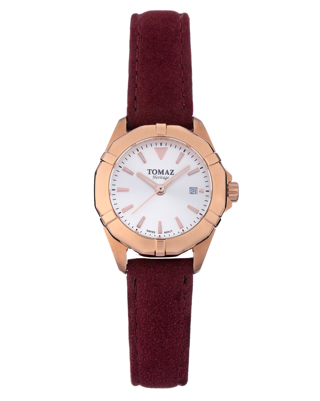 Tomaz Ladies Watch TQ009 (Rose Gold/White)