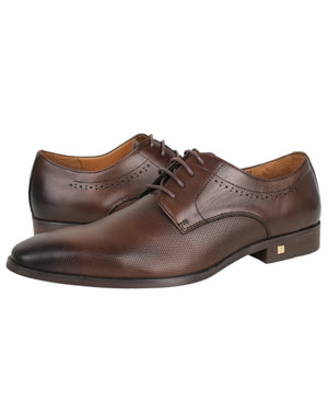 Load image into Gallery viewer, Tomaz F182 Brogue Derbies (Coffee) - Warehouse Clearance