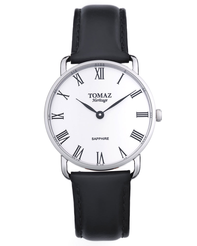 Load image into Gallery viewer, Tomaz Men's Watch G3M-D1 (Silver/White)