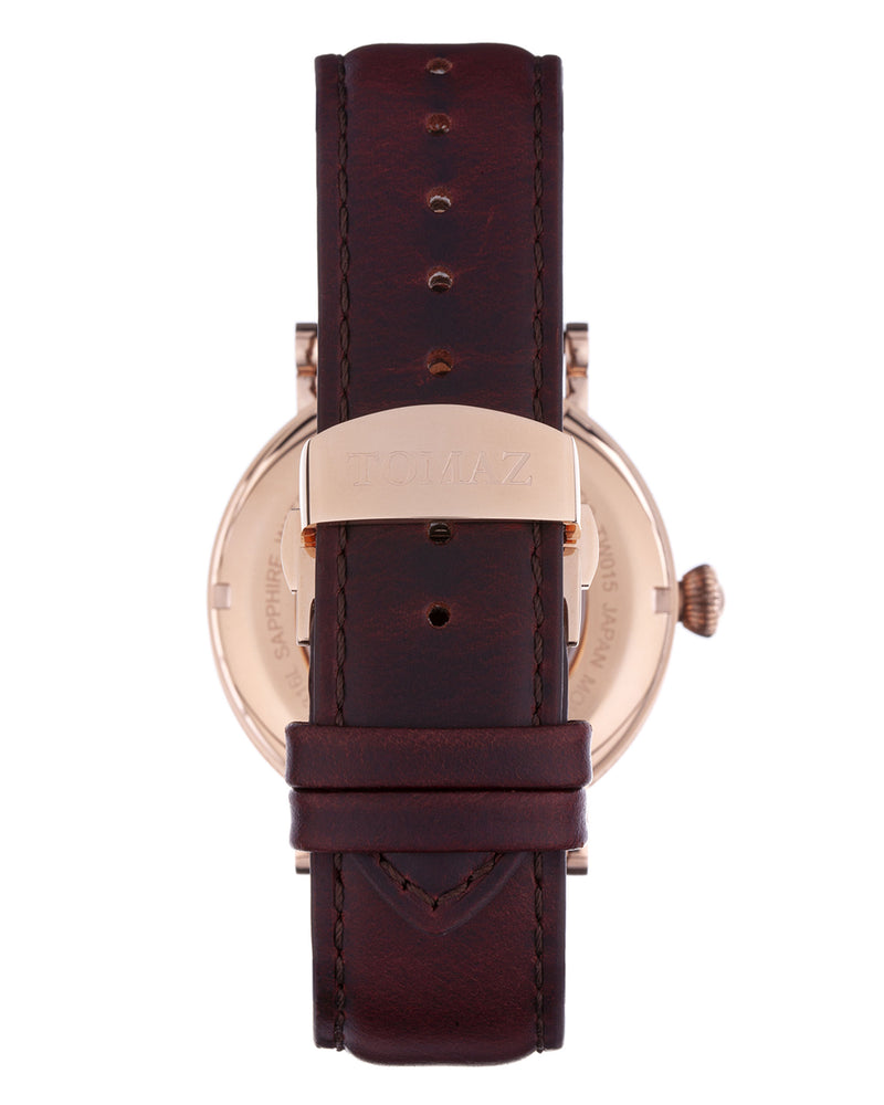 Load image into Gallery viewer, Tomaz Men's Watch TW015 (Rose Gold/Blue)