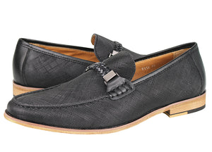 Tomaz F118 Braided Loafers (Black)