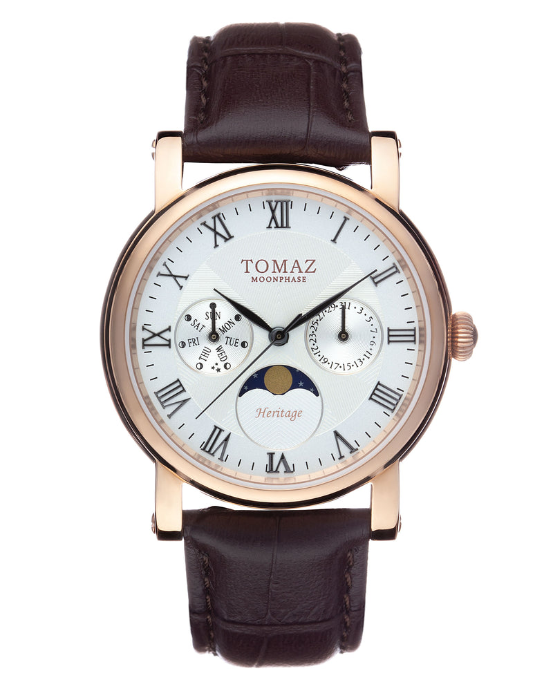 Tomaz Ladies Watch TQ007 (Rose Gold/Cream) watches Malaysia, watches for women, watches online, Watches of Switzerland, Watches for sale online, simple watch, ladies watch, watch with Sapphire Crystal, Swarovski watch