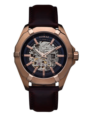Load image into Gallery viewer, Tomaz Men's Watch TW009B (Rose Gold/Navy) -1st ver.