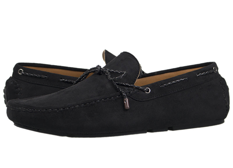 Load image into Gallery viewer, Tomaz C343 Braided Loafers (Black) - Tomaz Shoes (420821991453)