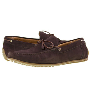 Tomaz BF002 Suede Moccasins (Coffee) - Tomaz Shoes