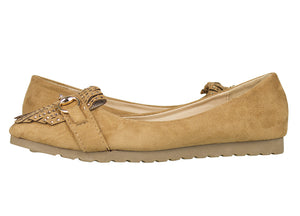 Tomaz LY32 Suede Leather (Camel) - Tomaz Shoes