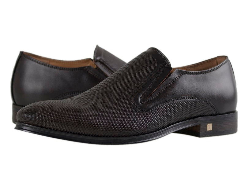 Load image into Gallery viewer, Tomaz F131 Formal Slip On (Coffee) - Tomaz Shoes (10468102472)