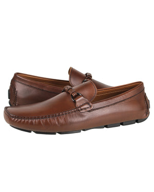 Tomaz C258 Buckled Moccasins (Coffee