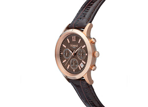 Tomaz Ladies Watch TQ002 (Rose Gold/Coffee) - Tomaz Shoes