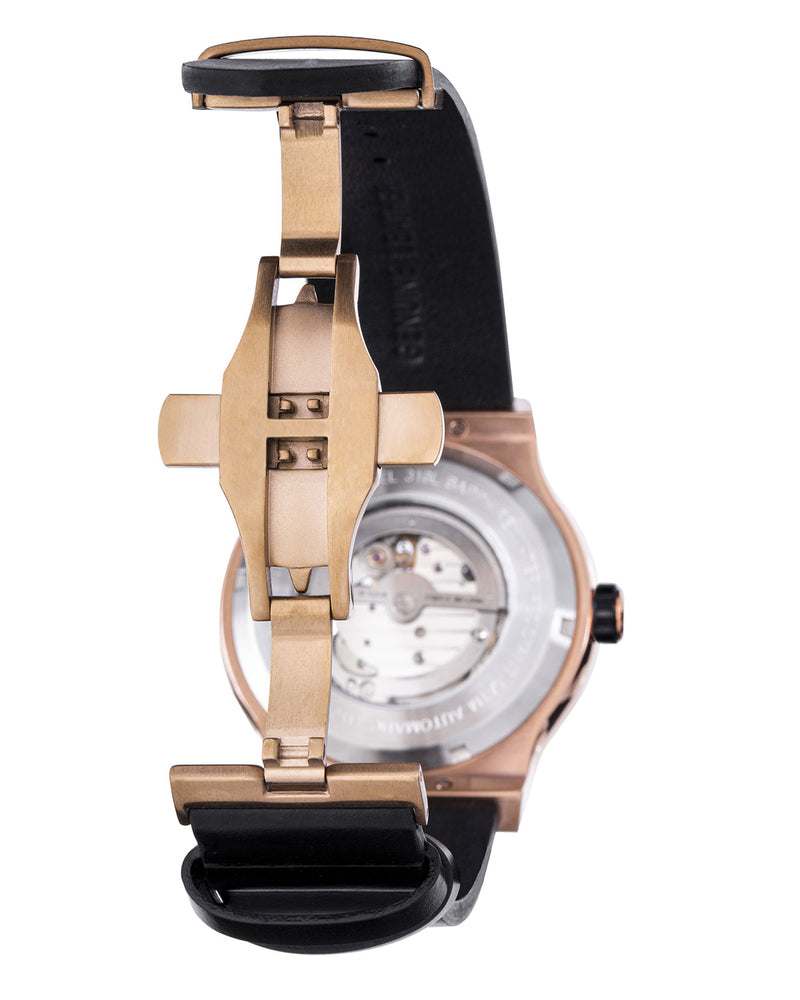 Load image into Gallery viewer, Tomaz Men's Watch TW014-D3 (Rose Gold/Navy)
