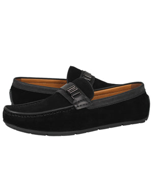 Load image into Gallery viewer, Tomaz C336 Front Buckled Loafers (Black)