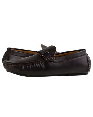 Load image into Gallery viewer, Tomaz C292 Buckled Loafers (Coffee)
