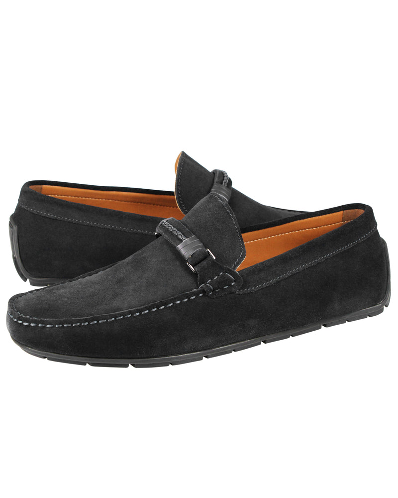 Load image into Gallery viewer, Tomaz C412 Buckle Moccasins (Black) men's shoes casual, men's dress shoes, discount men's shoes, shoe stores, mens shoes casual, men's casual loafers men's loafers sale, men's dress loafers, shoe store near me.