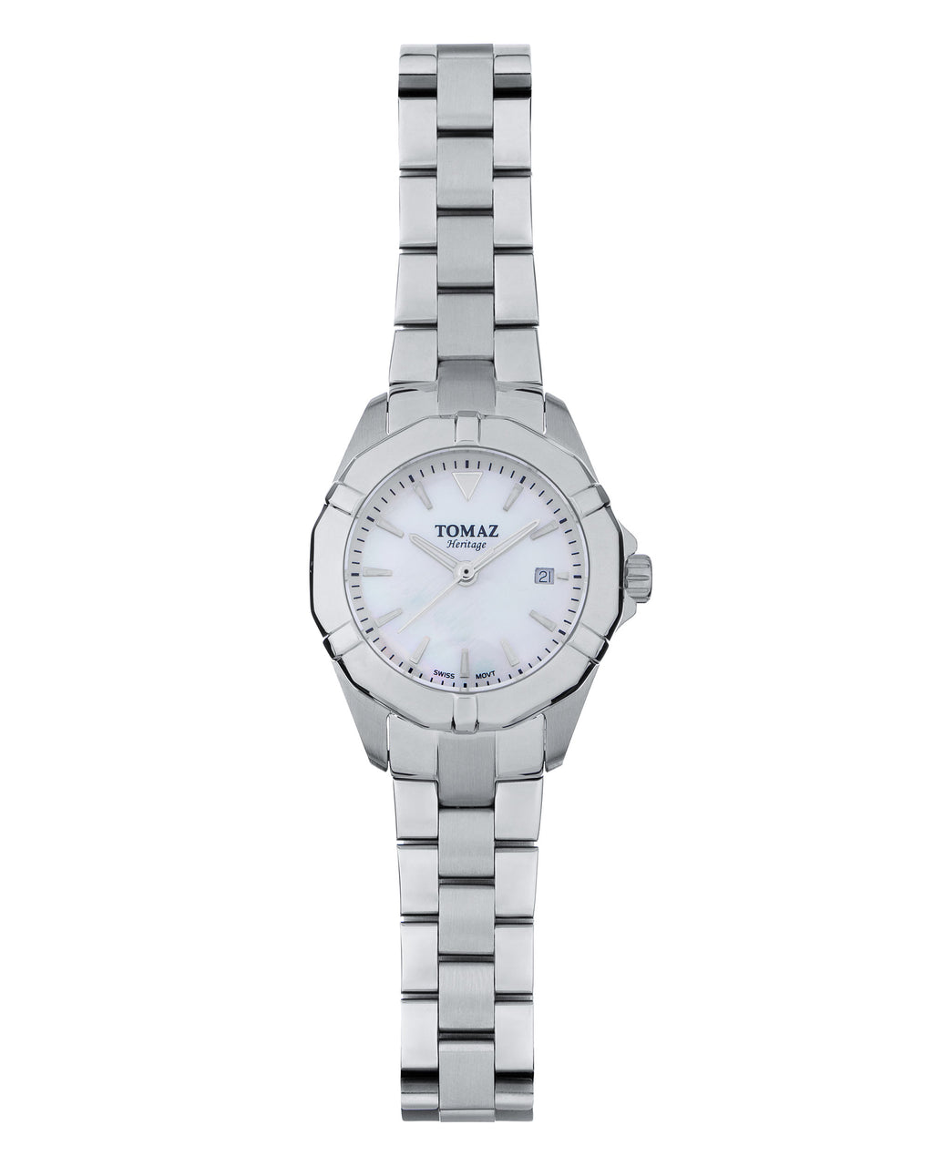 Tomaz Ladies Watch TQ009 (Silver/Pearl)