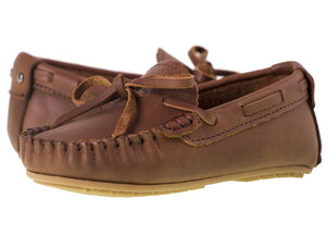 Load image into Gallery viewer, Tomaz C261 Ribbon Tassel Moccasins (Brown) - Tomaz Shoes (10303578952)