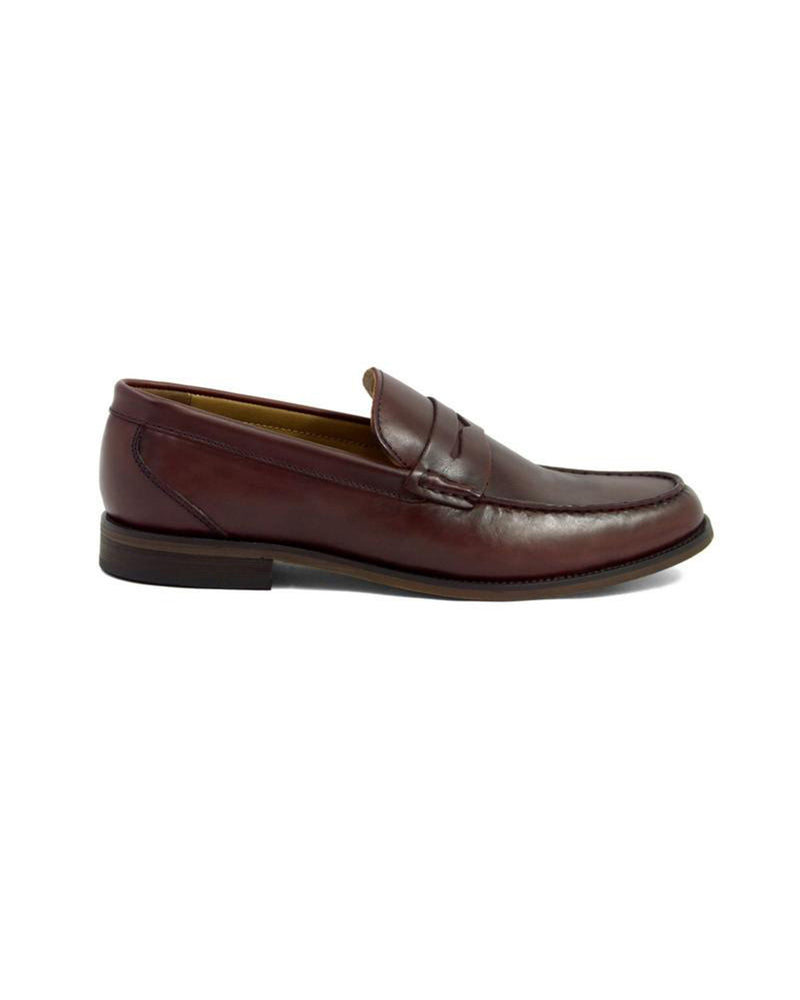 Load image into Gallery viewer, Tomaz F092 Penny Loafers (Wine)