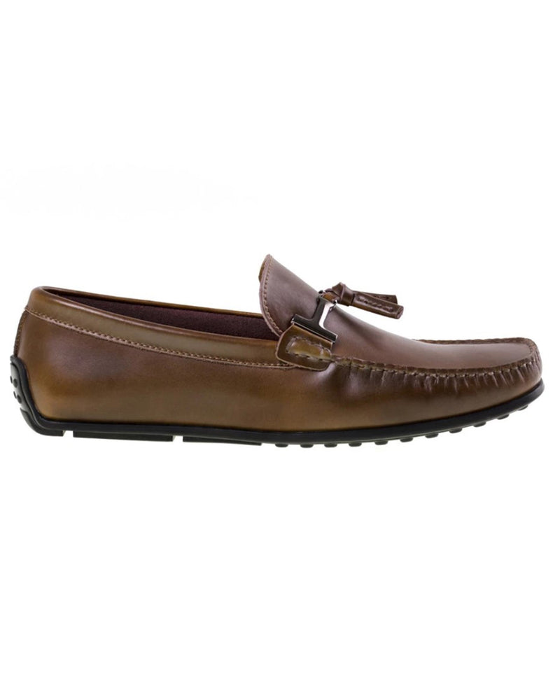 Tomaz BF004 Buckle Moccasins (Brown)