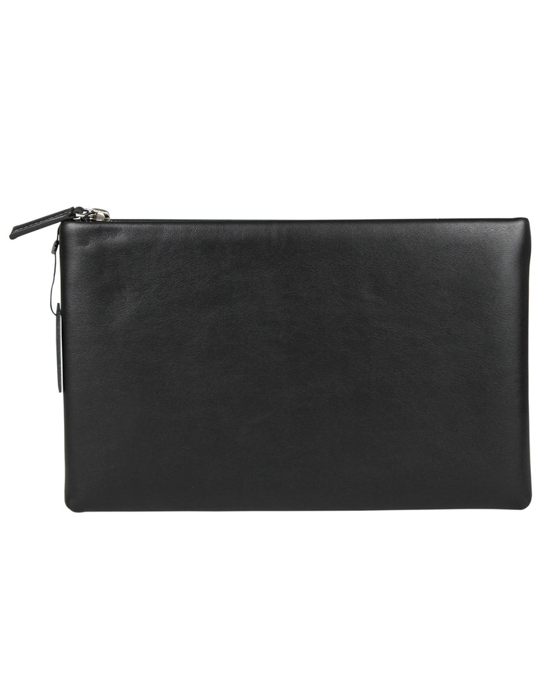 Load image into Gallery viewer, Tomaz NT77 Leather Clutch (Black)