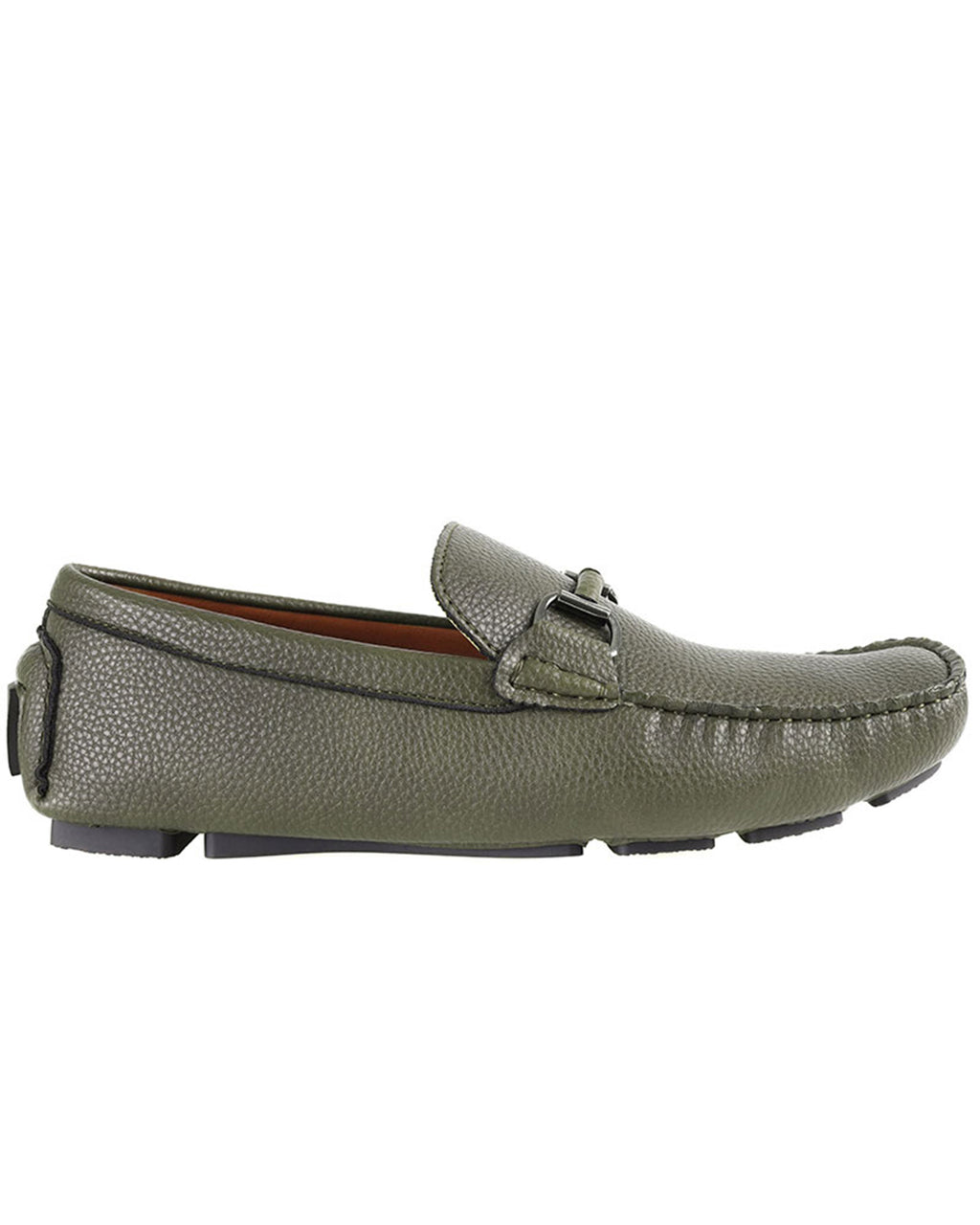 Tomaz C446 Buckle Moccasins (Green)