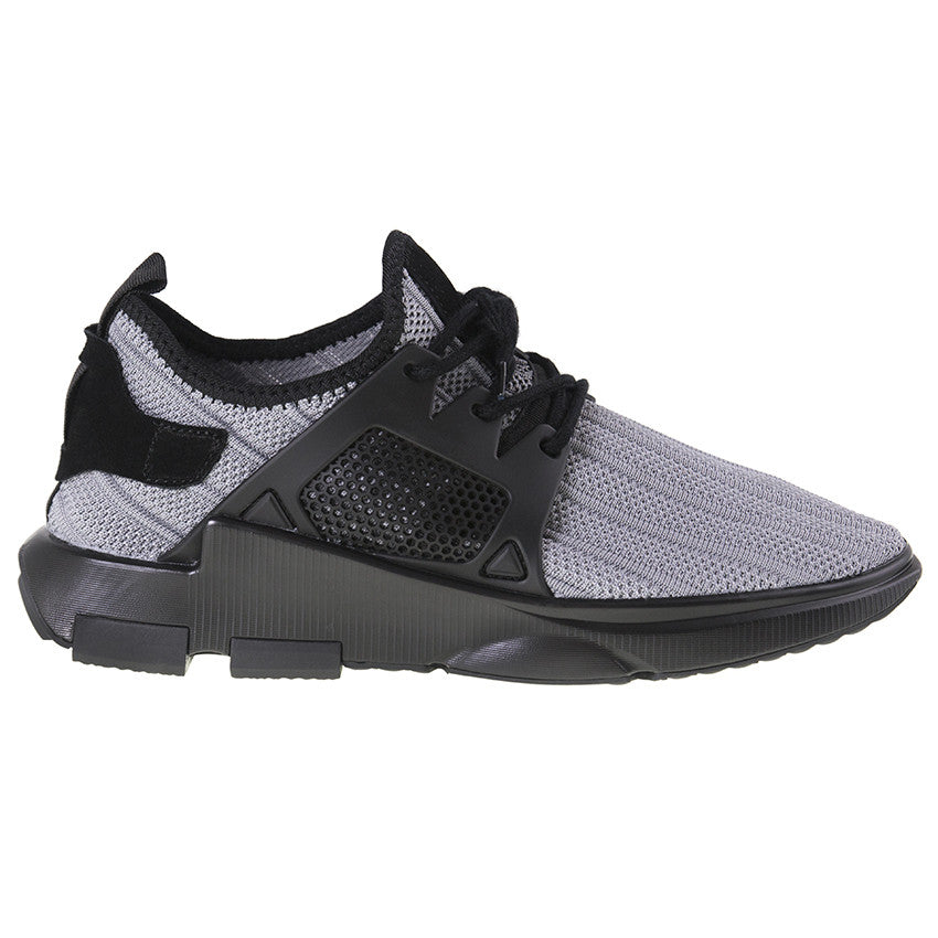 Tomaz 225 Running Knit (Light Grey) - Tomaz Shoes (9697457288)