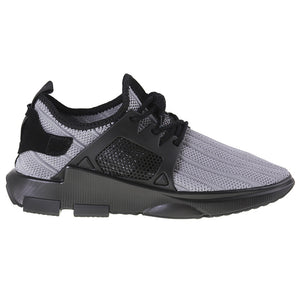 Tomaz 225 Running Knit (Light Grey) - Tomaz Shoes