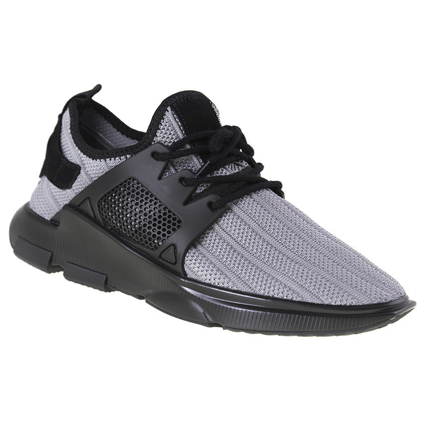 Load image into Gallery viewer, Tomaz 225 Running Knit (Light Grey) - Tomaz Shoes (9697457288)
