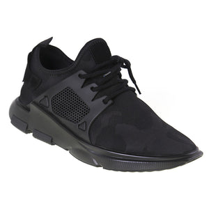 Load image into Gallery viewer, Tomaz 225 Running Knit (Black) - Tomaz Shoes (9697494088)