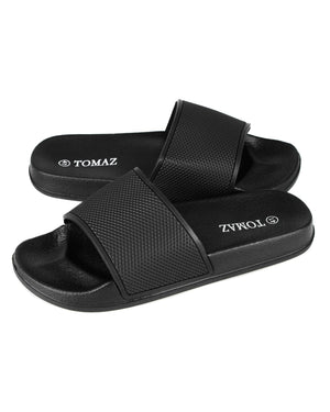 Load image into Gallery viewer, Tomaz 27153 Mens Sandals (Black)