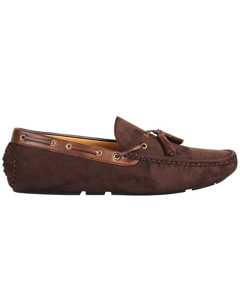 Load image into Gallery viewer, Tomaz C372 Tassel Moccasins (Coffee) men's shoes casual, men's dress shoes, discount men's shoes, shoe stores, mens shoes casual, men's casual loafers men's loafers sale, men's dress loafers, shoe store near me.