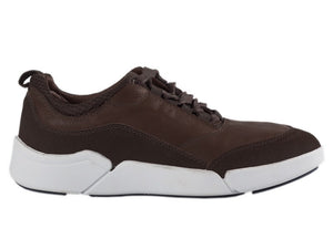 Load image into Gallery viewer, Tomaz C288 Leather Sneakers (Coffee) - Tomaz Shoes (10315614984)