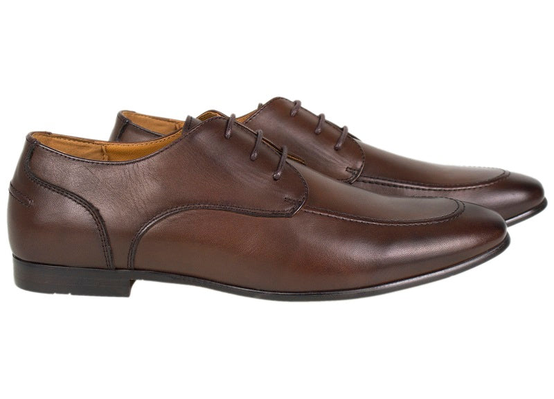 Tomaz F144 Formal Lace Up (Coffee) - Tomaz Shoes (335540518941)