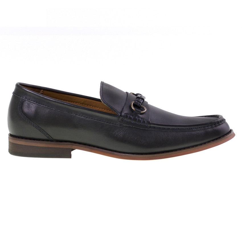 Tomaz C259 Penny Buckle Loafers (Navy) - Tomaz Shoes (8852912648)