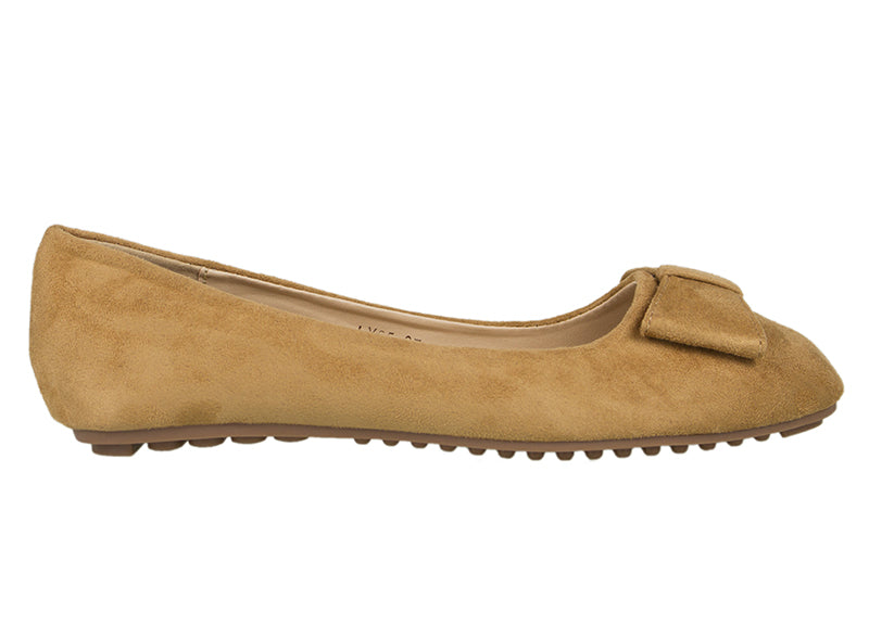 Tomaz LYF25 Suede Leather (Camel) - Tomaz Shoes (752619749465)