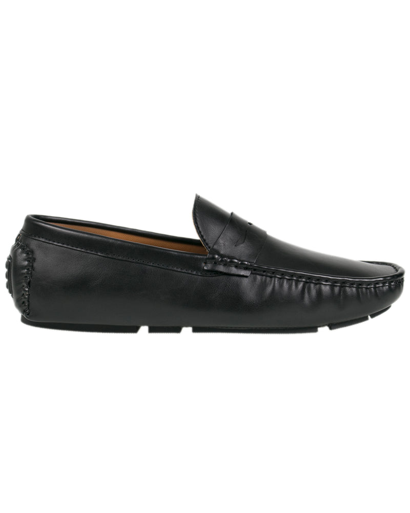 Load image into Gallery viewer, Tomaz C323 Penny Moccasins (Black) men's shoes casual, men's dress shoes, discount men's shoes, shoe stores, mens shoes casual, men's casual loafers men's loafers sale, men's dress loafers, shoe store near me.