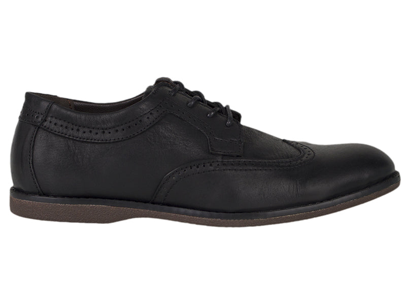 Tomaz C364 Casual Wingtip Brogues (Black) - Tomaz Shoes (756426178649)
