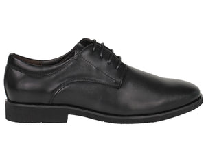 Tomaz F161 Lace Up Formal (Black) - Tomaz Shoes