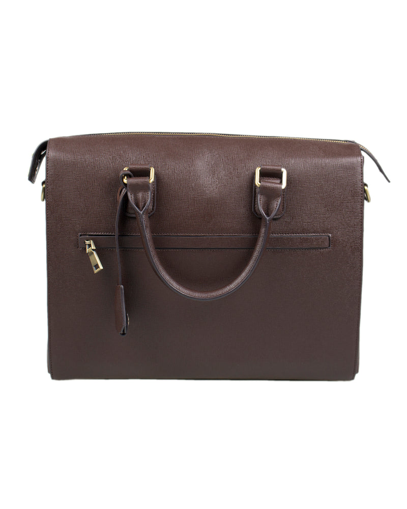 Load image into Gallery viewer, Tomaz NT03 Leather Office Bag (Brown)