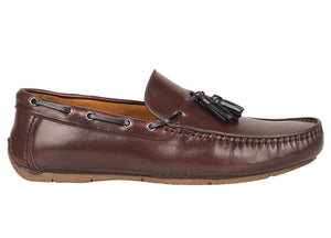 Tomaz C360 Tassel Loafers (Coffee) - Tomaz Shoes