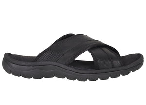 Tomaz C365 Mens Sandals (Black) - Tomaz Shoes
