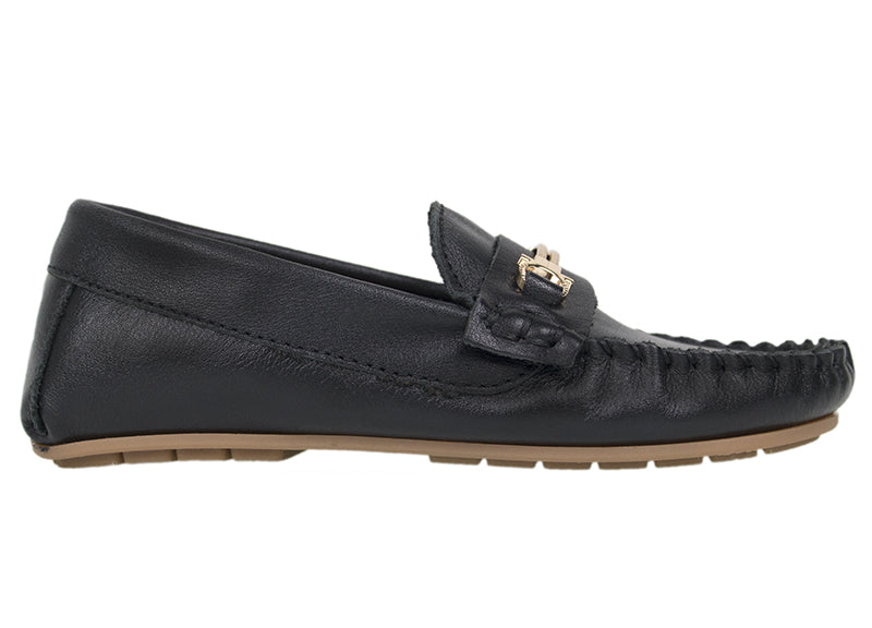Tomaz C327 Buckle Loafers (Black) (Kids) - Tomaz Shoes (737849901145)
