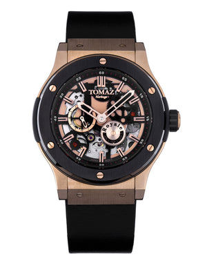 Load image into Gallery viewer, Tomaz Men's Watch TW014-D1 (Black/Black)