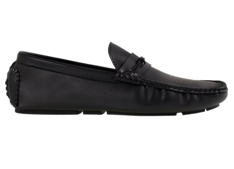 Tomaz C311 Braided Strap Loafers (Black) - Tomaz Shoes (10718538824)