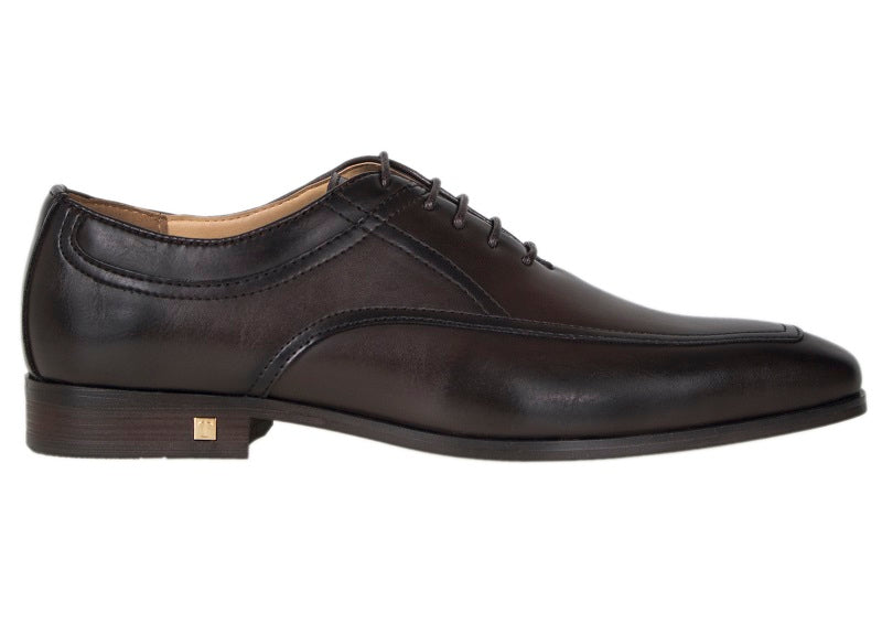 Tomaz F146 Lace Up Formal (Coffee) - Tomaz Shoes (241338417181)