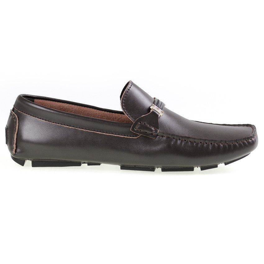 Tomaz C264 Buckled Loafers (Coffee) - Tomaz Shoes (8840254088)